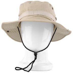 cc4f6ecb293bd EY Sombrero Del Cubo De Boonie Pesca Caza Al Aire Libre Amplia Cap Brim  Militar Unisex