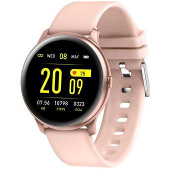 baratas para descuento 69dbe e153b Pulsera inteligente de presión arterial Monitor de ritmo cardíaco pulsera  inteligente reloj actividad Fitness rastreador salud deportes Smartwatch ...