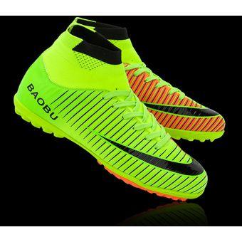 Compra Zapatillas Hombre De Fútbol Con Clavo Corto Y Colores - Verde ... 2ffbdec85a292