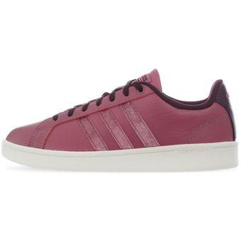 c6d9b505403 Compra Tenis Adidas CF Advantage Clean - BB7255 - Rosa - Mujer ...