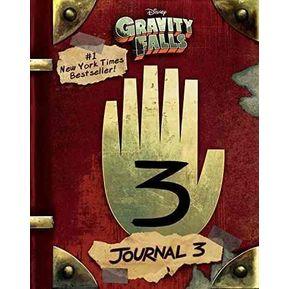 Libro Gravity Falls Diario 3 Disney 4f2df198535