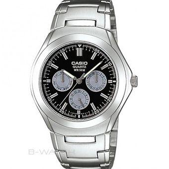 9d62d8b6c83e Compra Reloj Casio Hombre MTP- 1247D-1A Análogo Pulso Acero online ...