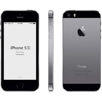 4192dcb9863 Compra Celulares Apple iPhone 5s 16GB Desbloqueados - Gris online ...