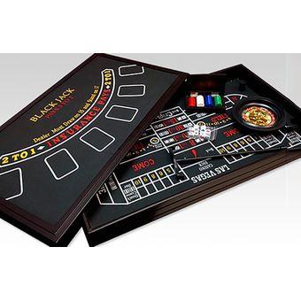 Compra Juego De Mesa Generico Casino 4 En 1 Marron Online Linio Chile