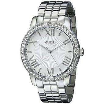 Compra Reloj Guess U0329L1 Análogo Plateado Para Mujer online ... 1c183babf957