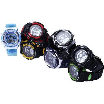 9f52d905094c OTS 833 Niños Deporte LED Reloj Digital De Resistencia Al Agua Multifunción  Reloj De Pulsera Para