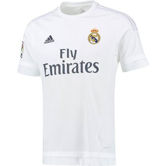 Compra Jersey Real Madrid Local 2015-2016 Champions League Blanco ... ada96da7b5ca0