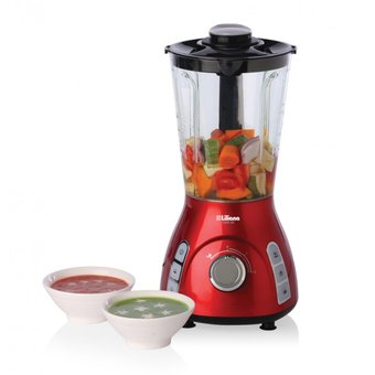 Licuadora Soup Cook Liliana 1050 Watts AS800- Rojo