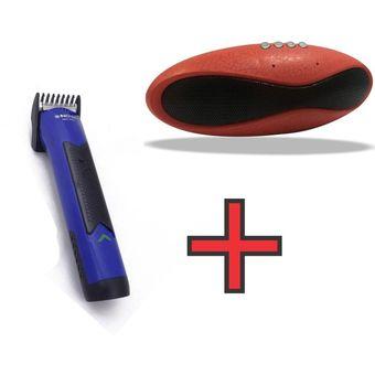 Agotado Parlante Bluetooth X8U - Radio FM - USB - SD + Cortadora De Cabello  Afeitadora Razuradora b5a6fc51a8f2