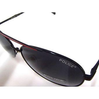 6c95de1bad Lentes de sol - Policia - Aviador - Polarizados + proteccion UV - Negro