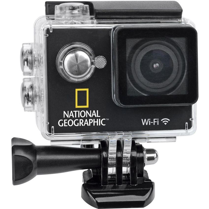 Cámara Deportiva National Geographic-Negro