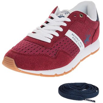 Compra Tenis Hombre Beverly Hills Polo Club Rojo-Blanco online ... 7bfe2f847f2
