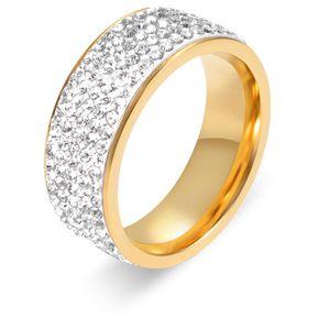 298ee86e6cc8 Anillo de dedo de acero inoxidable Anillo de moda para hombres y mujeres