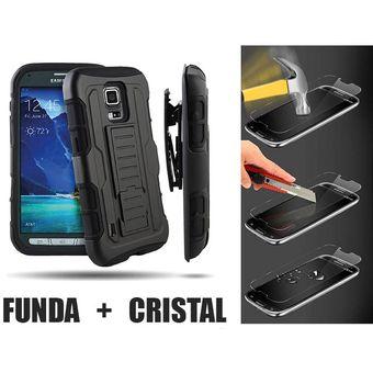 058f9b6e957 Agotado Funda Rsistente Samsung J3 2016 J320 Protector Uso Rudo + Cristal  Templado 9H