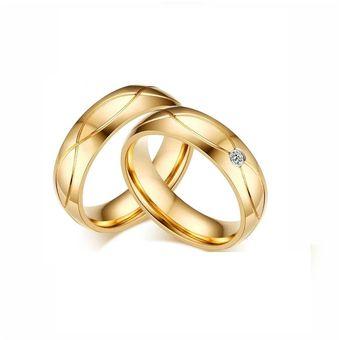 61390053bcb7 Aros De Matrimonio. Hombre. JOYAS LUCYANA. Bañados En Oro Amarillo De 18K
