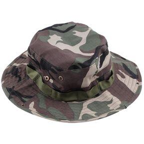 ER Pesca Senderismo Boonie Snap Brim Militar Bucket Sun Del Casquillo Del  Sombrero De Camo Del 598a3abf314