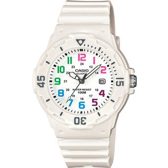 09207c2afde9 Reloj CASIO LRW-200H-7BVCF Womens Collection Análogo Con Calendario-Blanco
