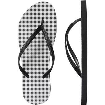 rebajas outlet gran venta compras Sandalia Gap Para Dama Color Negro Estilo 150494-08 Gingham
