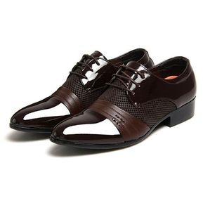 74359463498 Negocios De Tamaño Grande La Manera Suave Boda Cuero Zapatos De Lujo De Los  Hombres Del