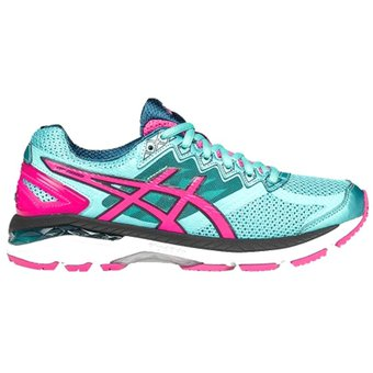 21fd9aa0786 Compra Zapatos Running Mujer Asics GT-2000 4-Azul Con Rosa online ...