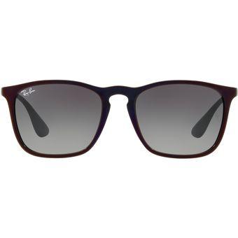 Compra Gafas de Sol Ray Ban Chris 0RB4187 para Hombre-Negro con Rojo ... a275373311