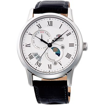 659a13964 Compra Reloj Orient Classic Mecánico Sun and Moon GM AK00002S online ...