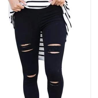 el precio se mantiene estable cliente primero sitio de buena reputación Pantalones Cintura Alta Generico Mujer-Negro