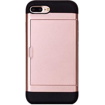 757ee36e83d Para IPhone 8 Plus Y 7 Plus Classic Estilo TPU + PC Combinación Caso Con  Ranura