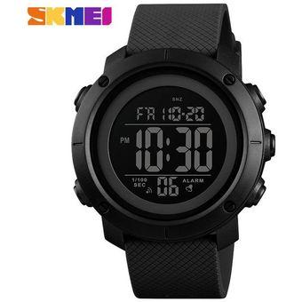 Calidad superior 54a24 93df0 Reloj Deportivo Impermeable Para Hombre Reloj Digital-Negro