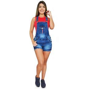 e464b982e Overol Short Mujer Pink Star Short Levantacola Colombianos