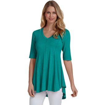 459d57a1b5 Compra Mujer Camisa Blusa Mangas Largas Tailun-Cool-Verde online ...