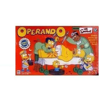 Juego De Mesa Operando A Homero Multicolor