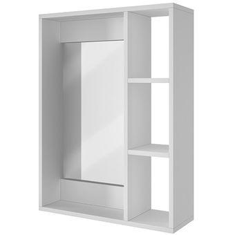 Compra gabinete para pared de ba o con espejo y repisas for Repisas para bano rimax