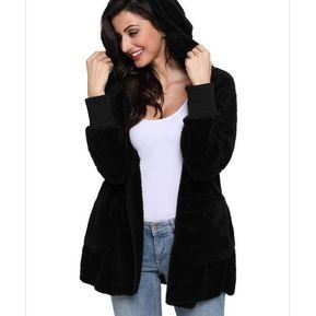 Cardigan Mujer Generic Abrigo Chaqueta Negro wHTqn5x1