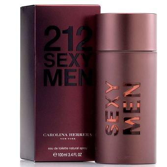 a6d3d868a6 Compra 212 Sexy Men de Carolina Herrera Eau de Toillette 100 ml ...