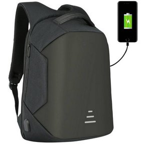 34d9965ec Mochila Antirrobo USB Impermeable Laptop Notebook Usb Mac Negro