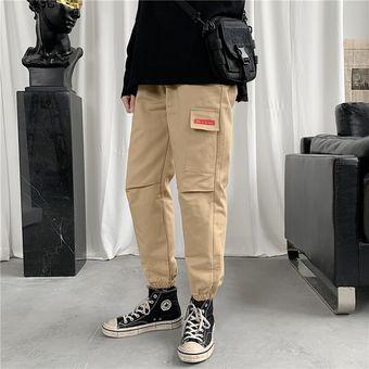 Cintura Elastica Multibolsillos Para Hombre Pantalones Tipo Cargo Kaki Linio Peru Oe991fa119mfwlpe