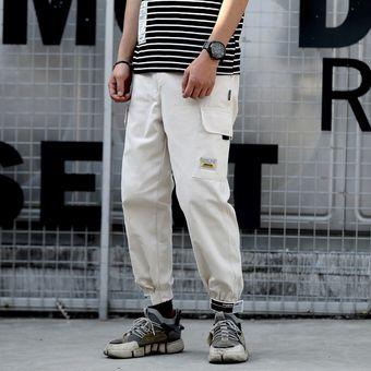 Bolsillos Cargo De Haren Pantalones Para Hombre Casual Joggers Pantalones Tacticos Holgados Harajuku Streetwear Hip Hop Moda Swag M Xxl A263 Linio Peru Un055fa05p1q9lpe