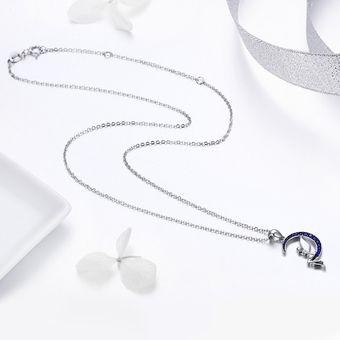 095a642dc099 Compra Collar Colgante Plata 925 Hada Luna con Circones online ...