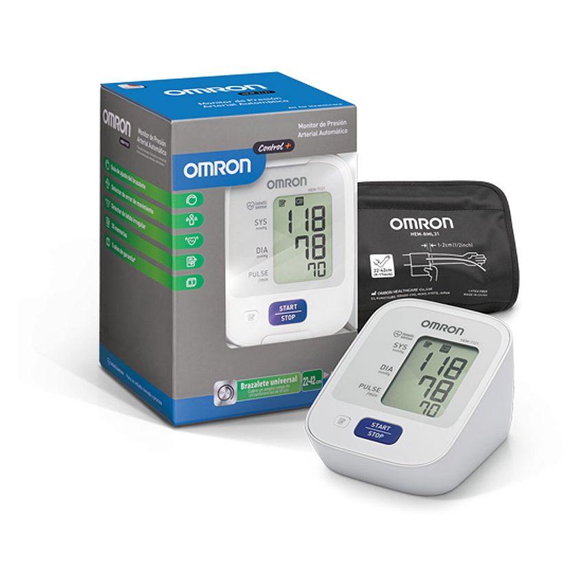 Monitor De Presión Arterial Automático Omron Hem-7121