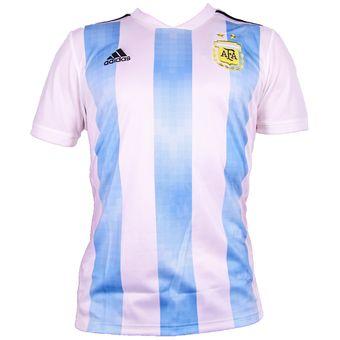 Compra Jersey Local Selección Argentina Rusia 2018 - Hombre online ... 27d0c8c2f27aa