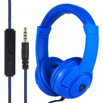OVLENG Ht32 Heavy Bass Stereo Musica Auriculares Con Cable De Audio De 3,5 Mm, Para El IPhone, Samsung, Huawei, Xiaomi, HTC Y Otros Smartphones, Todos Los Dispositivos De Audio (azul)