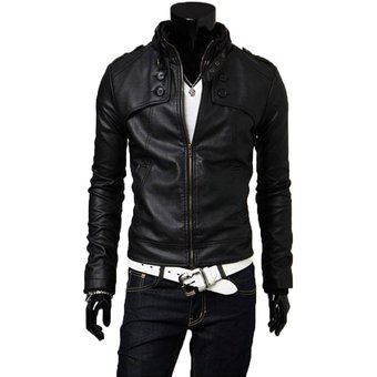Imagenes de chaquetas de cuero negras