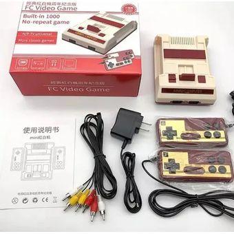 Consola Mini Family De 1000 Juegos + 2 Controles Salida Av | Linio Colombia  - GE063EL1667ORLCO