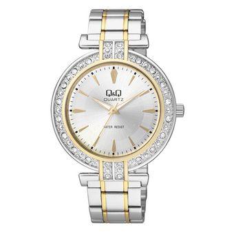 6c78058f220e Compra Reloj Q Q Dama Ref  Q885J401Y Plateado Qq Quartz online ...