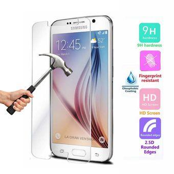 f3986fc694e Agotado Mica Protector De Vidrio Templado Antihuellas De Alto Impacto - Samsung  Galaxy J7 Prime