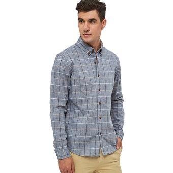 21aa70e643 Compra Camisa De Vestir De Algodón Para Hombre Camisas Para Hombres ...