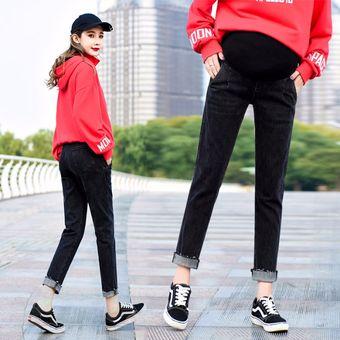 Vaqueros De Embarazo Negros Vaqueros De Haren Delgados Jeans Para Mujer Linio Mexico Oe599fa01u1nblmx