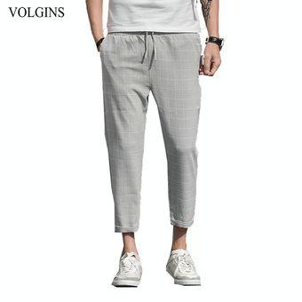 Ropa De Calle Novedad De Pantalones A Cuadros Para Hombre Pantalones Ajustados De Vestir Para Hombre Pantalones Casuales De Talla Grande Para Hombres Pantalones Bq Dark Grey Linio Peru Ge582fa0u5oa7lpe