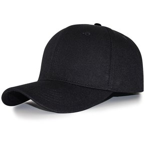 La Moda De Verano Mujer Hombre Casual Tamaño Ajustable Sombreros Gorras De  Béisbol De Color Negro 26357b46bf8